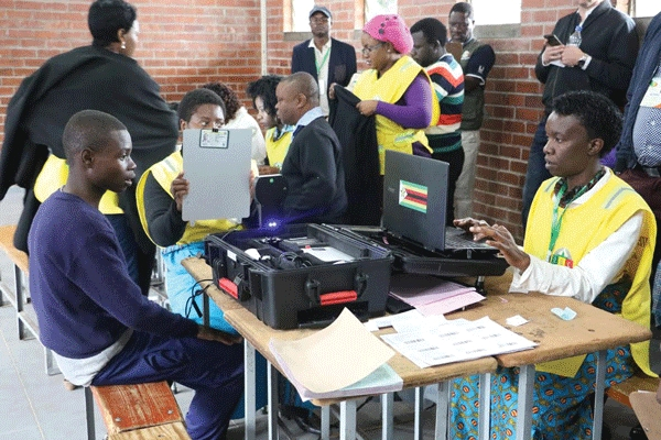 BIOMETRIC VOTER REGISTRATION OFF TO A GLITCHY START
