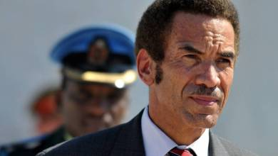 Photo of Influential Ex President Ian Khama Throws His Weight Behind Opposition Campaign