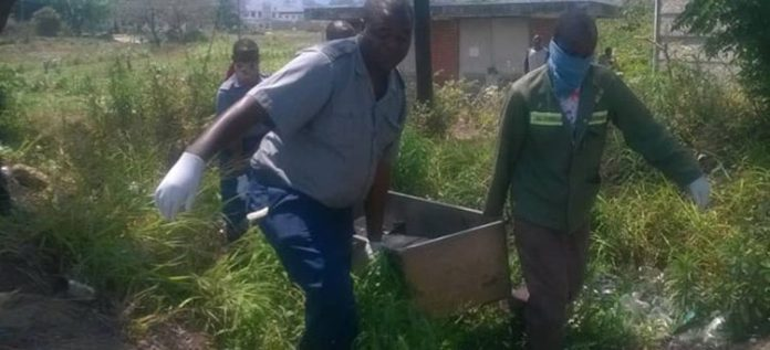 MAN FOUND DEAD IN MUTARE