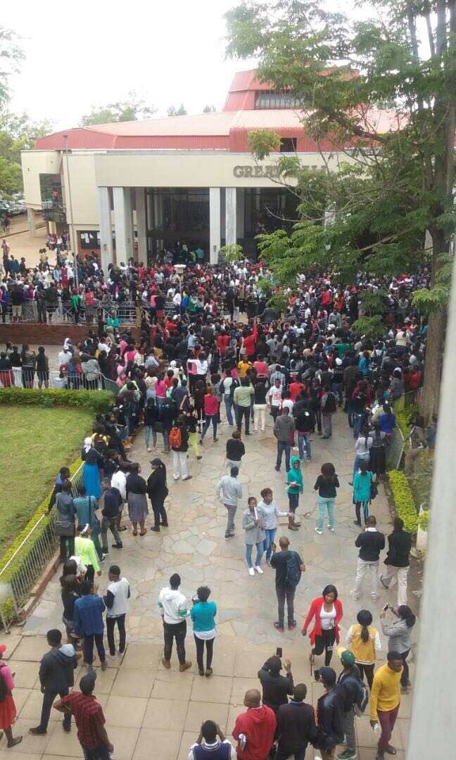 UZ STUDENTS PROTEST, EXAMS CANCELLED