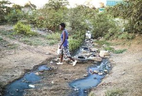 OUTCRY AS MABVUKU RESIDENTS ARE PLAGUED BY RAW SEWAGE DAMS