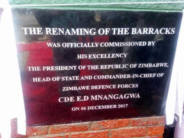 PRESIDENT ANGERED BY ARMY'S SPELLING ERROR !