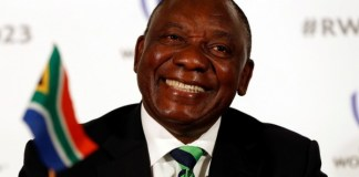 'Cyril Ramaphosa' NOW THE PRESIDENT OF SOUTH AFRICA