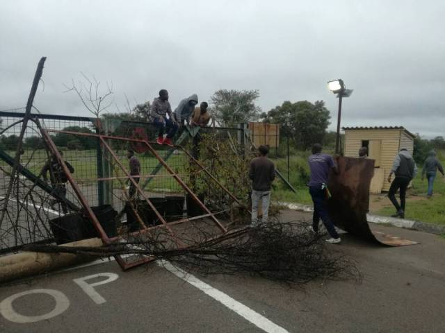 FIFTY STUDENTS ARRESTED IN NUST SHUTDOWN RIOT