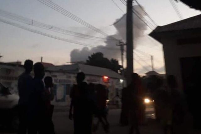 18 DEAD AFTER TWO CAR BOMBS EXPLODE IN SOMALI CAPITAL