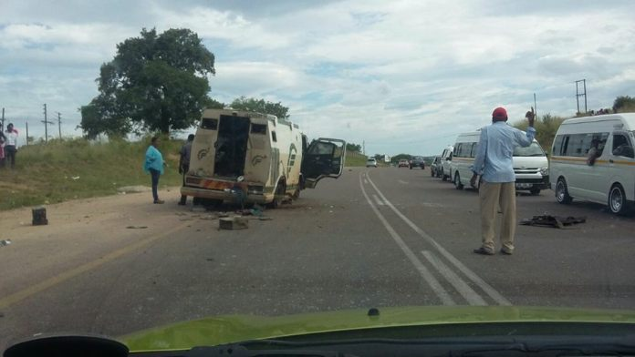 ROBBERS AMBUSH ANOTHER CASH IN TRANSIT VAN