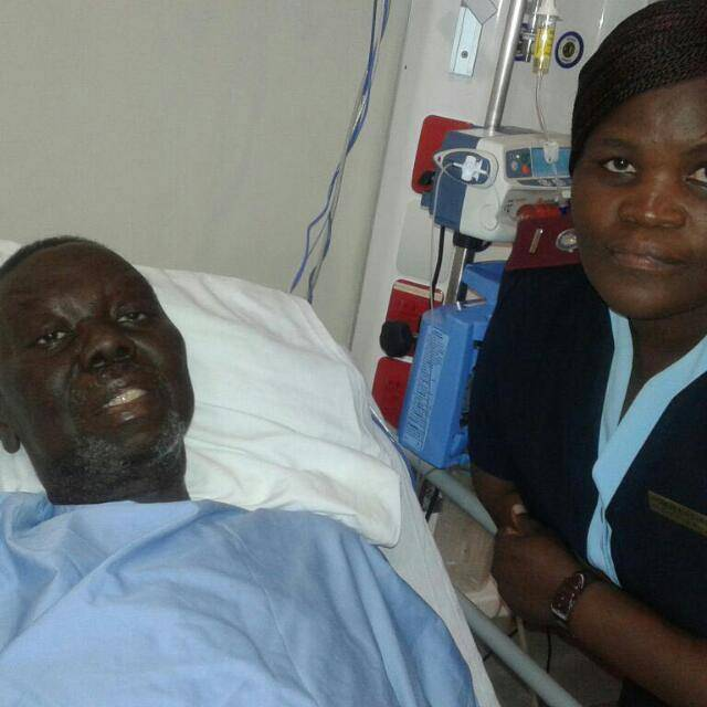 NURSE IN HOT SOUP OVER TSVANGIRAI'S HOSPITAL PICTURE
