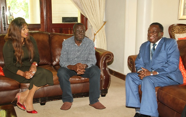 ELIZABETH BARRED FROM TSVANGIRAI HOSP