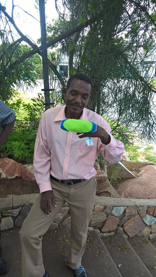 REUSABLE PADS FOR KARIBA