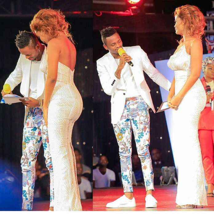 DIAMOND PLATNUMZ WARMS UP TO BABY MAMA AFTER BREAK-UP WITH ZARI