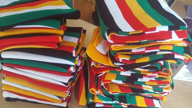 ED's Popular Scarves Going At $20 A Pop… All Sold Out At ZITF