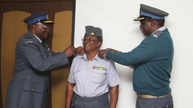 ED PROMOTES 10 AFZ OFFICERS