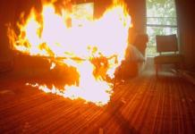 AFFAIR ENDS IN TRAGEDY AS MAN KILLS SELF AFTER AXING, BURNING MARRIED GIRLFRIEND