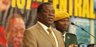 ZANU PF TAKES EARLY POLL LEAD