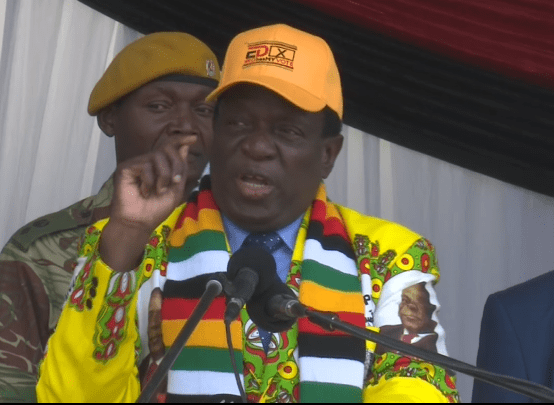 ELECTIONS GOING AHEAD : CHARAMBA