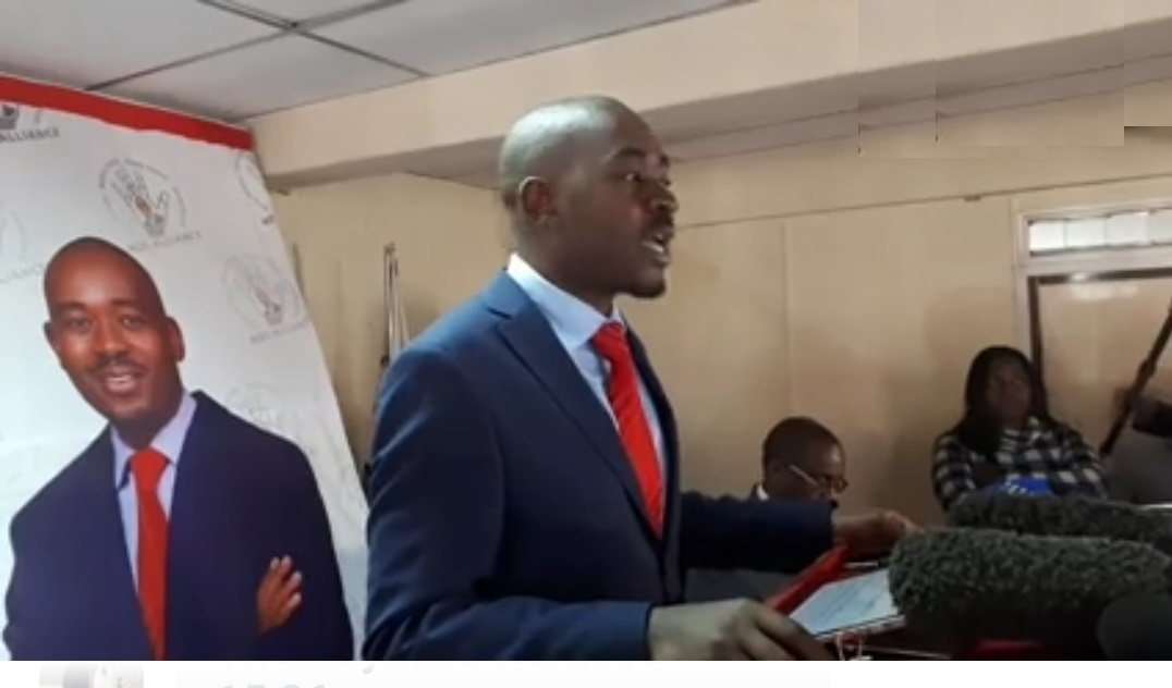 """""""May You Be Visited By The Winds Of Sanity"""": Chamisa Tells State Media"""