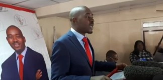 """May You Be Visited By The Winds Of Sanity"": Chamisa Tells State Media"