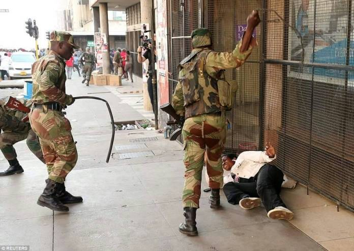 No Order Was Given To Army To Clear Central Harare