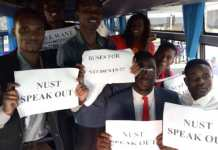 NUST Students ARRESTED For School Bus Demo