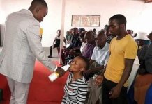 Prophet Makes congregants drink Jik