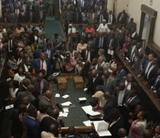 MDC Alliance MPs 'Savage' Justice Malaba In Parly