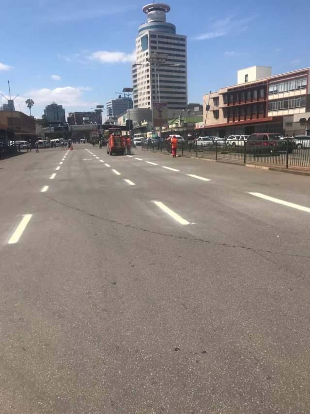 SPRUCING UP HARARE : PICTURES