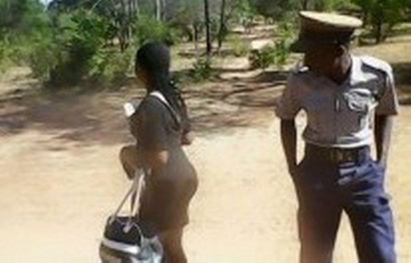 police-zrp-officer-woman-buttocks