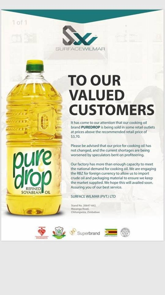 Cooking Oil Price Latest, Manufacturer Says There Is No Price Increase