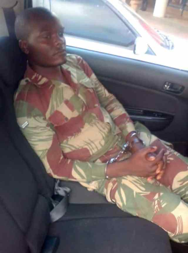 """""""Bogus Soldier"""": We Were Given The Army Uniforms At Zanu-PF Head Quarters"""