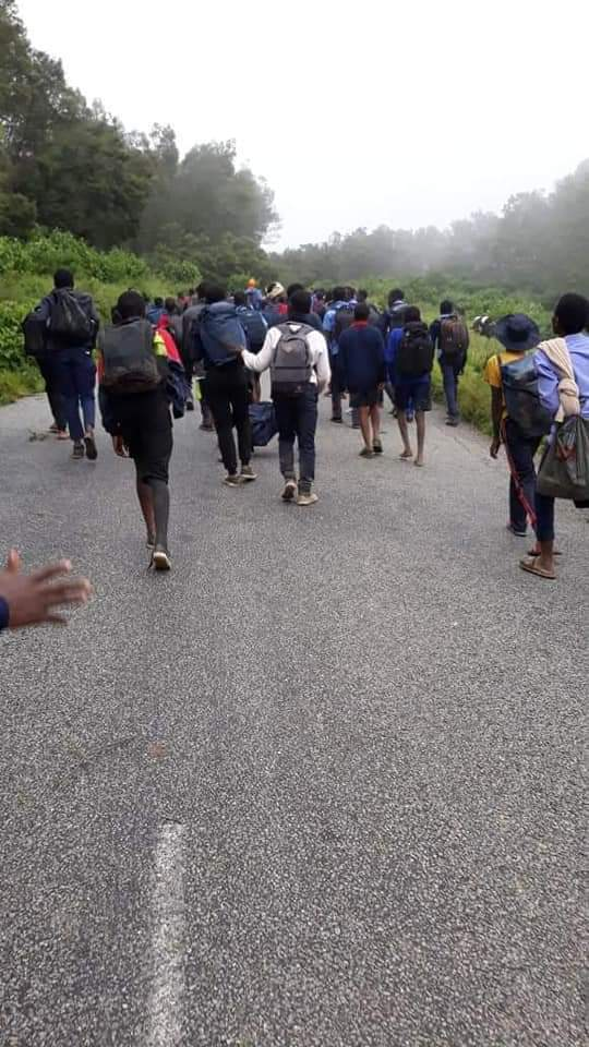 St Charles Lwanga Pupils Trek To Safety After Cyclone Disaster Strikes School Leaving 2 Dead