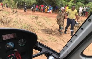 Chimanimani Gogo Rescued After Being Stranded For 7 Days