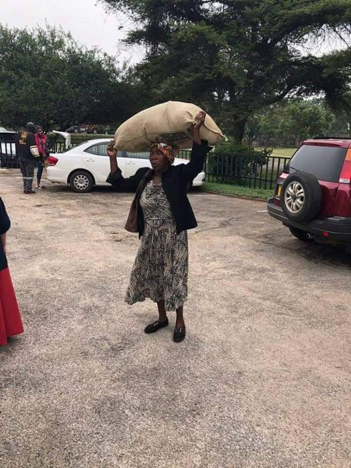Granny Treks From Mbare To Highlands To Donate Her Pots For Cyclone Idai Victims