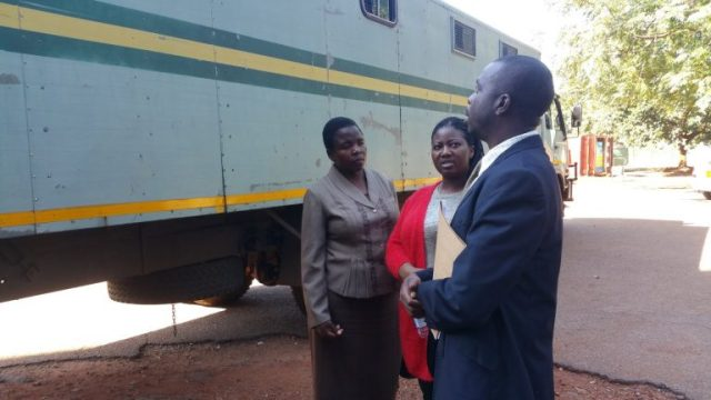 MDC MP Joana Mamombe Arrives At Court After Spending Weekend Behind Bars