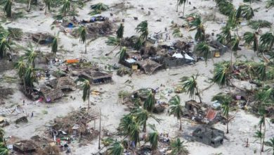 Photo of Rain grounds Mozambique aid flights as cyclone death toll hits 38