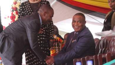 Photo of Chamisa worried about VP Chiwenga's health