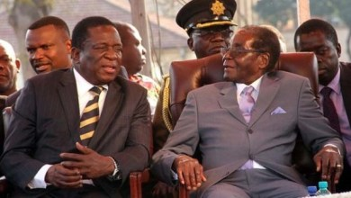 "Photo of ""Mnangagwa Is Simply A Scarfed Robert Mugabe"" – MDC Spokesperson"