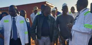 ENERGY MINISTER CHASI VISITS WICKNELL PROJECT!