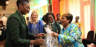 First Lady honors national netball team