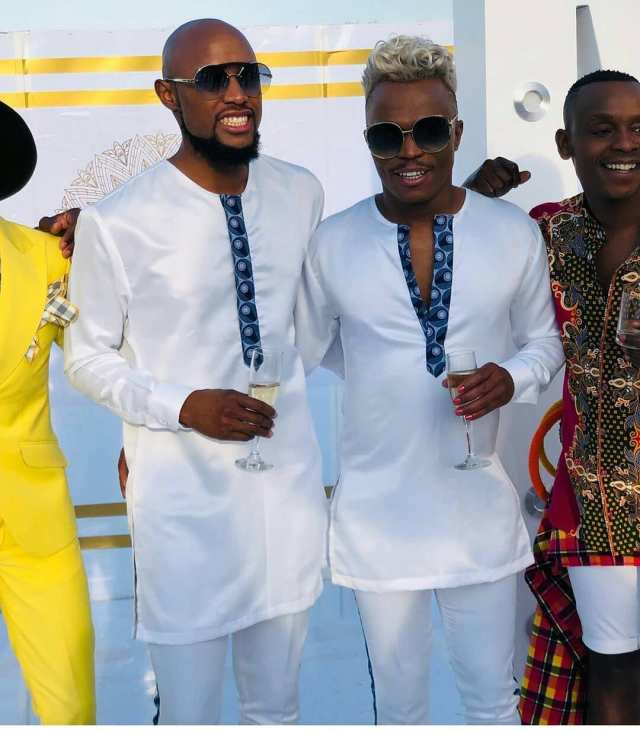 Pictures of Somizi and Mohale after their Traditional Wedding – #Somhaletraditionalwedding