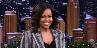 Michelle Obama Displays Her Rock Solid Abs To Encourage Us All To Get In The Gym