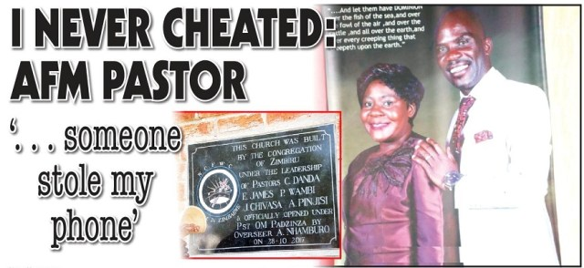 AFM Pastor Attacked For 5-Year Adultery Scandal Blames The Devil