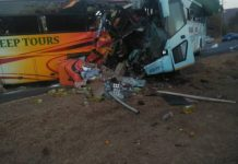 Buses involved in head on collision near Gweru