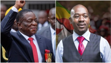"Photo of ""To Us Mnangagwa Remains Illegitimate"""