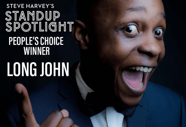 Zim Comedian Long John Makes History…Wins Steve Harvey's Comedy Competition