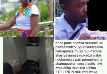 Zimbo murders wife in Pretoria wraps body with plastic and place it under the bed