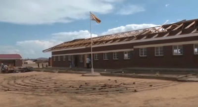 Hailstorm blows off school roof in Chinhoyi