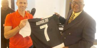 CR7 sends his jersey to Phidza