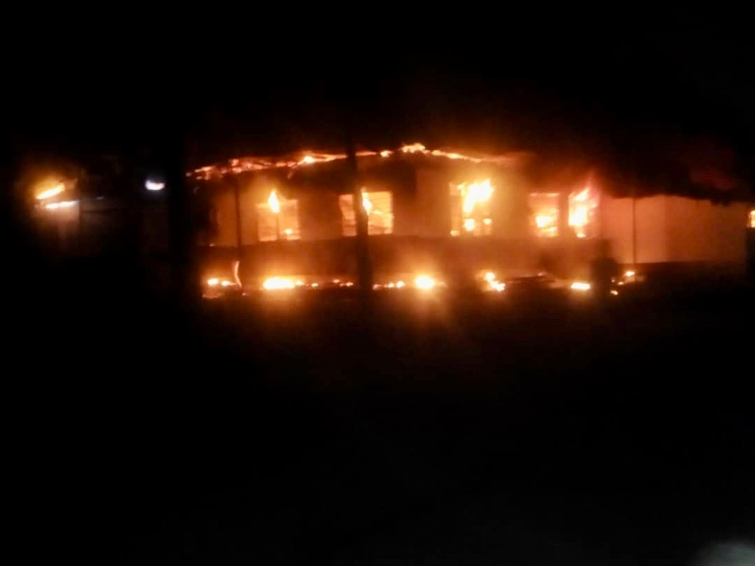 Another fire incident at Accra Academy