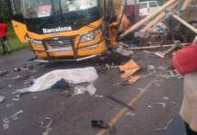 14 Perish In Horror Bus Crash