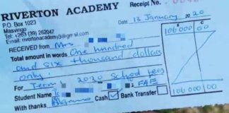 Crazy School Fees That Some Parents Are Paying In Zimbabwe
